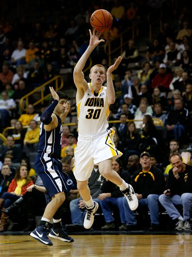 Penn St Iowa Basketball