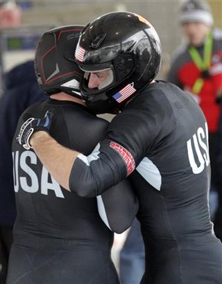 Steven Holcomb, Curtis Tomasevicz