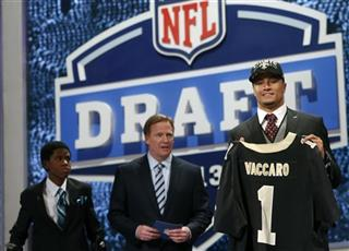 Markell Gregoire, Kenny Vaccaro, Roger Goodell