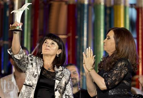 Cristina Fernandez ,Susana Trimarco