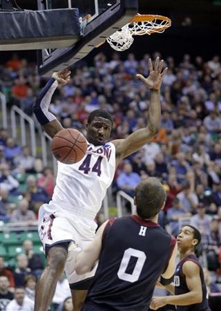 Solomon Hill, Harvard's Laurent Rivard