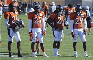 Broncos Camp Football