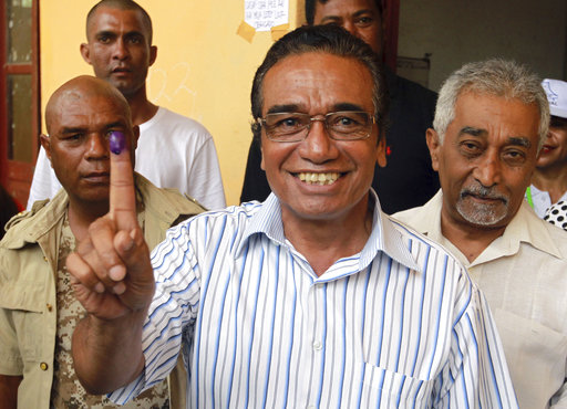 East Timor votes for president in test for young nation