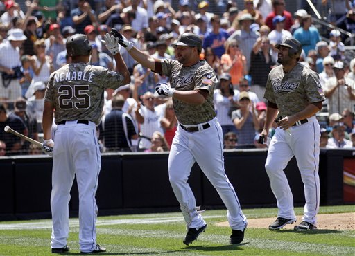 Will Venable, Yonder Alonso, Carlos Quentin