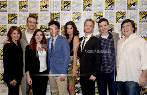 inVision Alan Hess/Invision/AP a ENT CPAENT CA USA INVL 2013 Comic-Con - 20th Television How I Met Your Mother Press Room