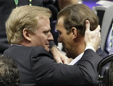 Roger Goodell, Stephen J. Bisciotti