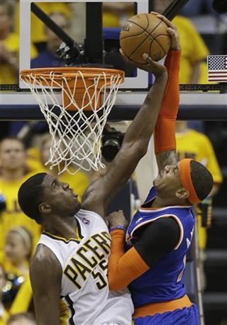 Roy Hibbert, New York Knicks