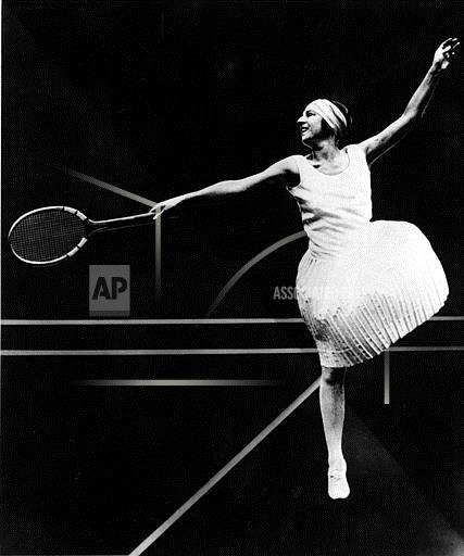Associated Press Sports France Tennis SUZANNE LENGLEN