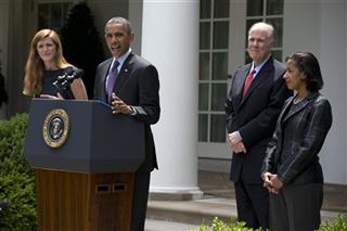 Barack Obama, Tom Donilon, Samantha Power, Susan Rice