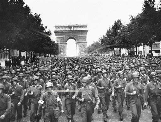 Watchf AP I   FRA APHS397756 WWII France, Liberation of Paris