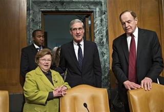 Robert Mueller, Barbara Mikulski, Richard Shelby