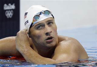 Lochte Suspended Swimming