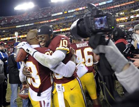 DeAngelo Hall, Robert Griffin III