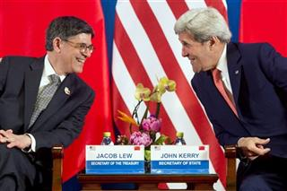Jacob Lew, John Kerry