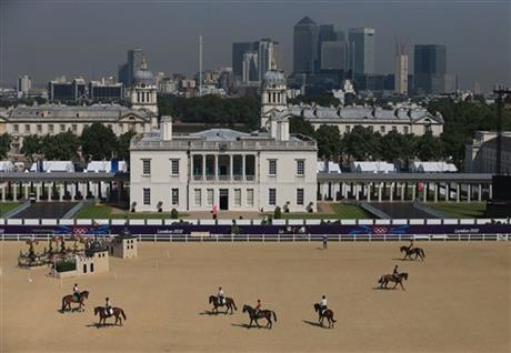 London Olympics Equestrain