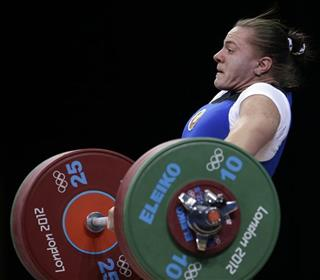 London Olympics Weightlifting Women