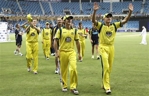 Mideast Emirates Pakistan Australia Cricket