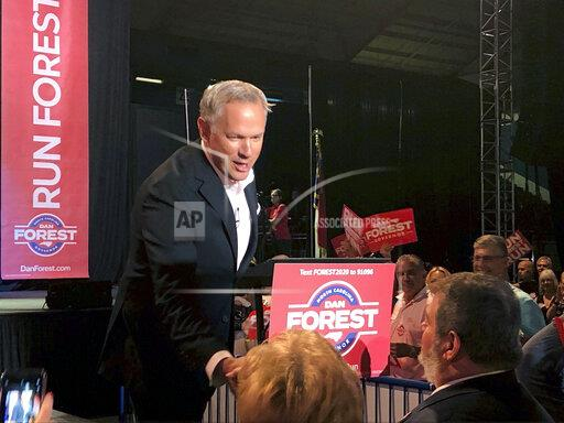 Election 2020 Governor Forest