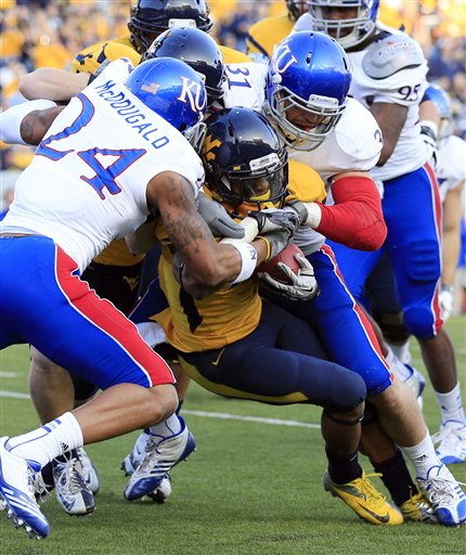 Bradley McDonugald, Ben Heeney, Tavon Austin