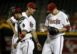 Trevor Cahill, Charles Nagy, Wil Nieves