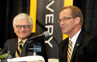 University of Missouri Athletic Director Jim Sterk