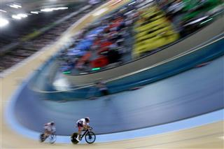 APTOPIX Britain Track Cycling World Championships