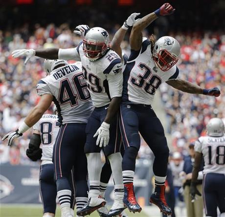 LeGarrette Blount, James Develin, Brandon Bolden