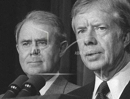 Associated Press Domestic News Dist. of Columbia United States VANCE PRESIDENT CARTER