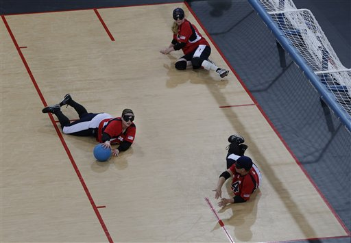 London Paralympics Goalball
