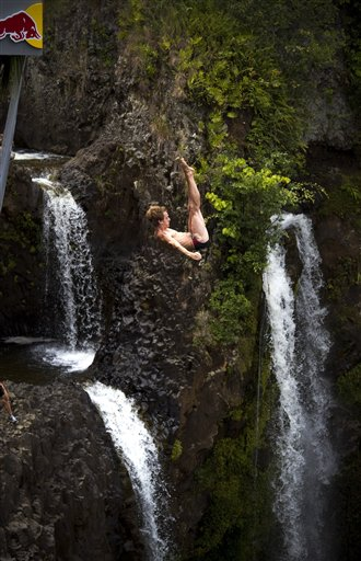 Hawaii Cliff Diving