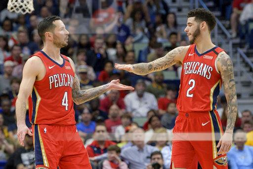 Clippers Pelicans Basketball