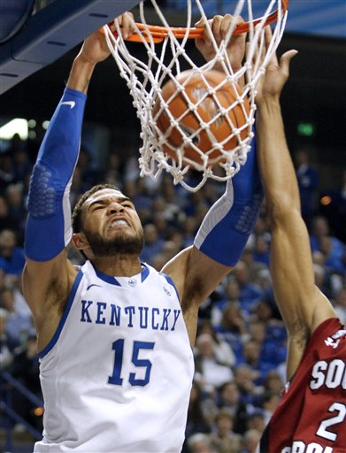 Willie Cauley-Stein, Brian Richardson