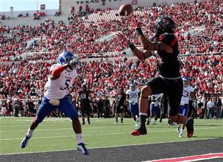 Kansas Texas Tech Football