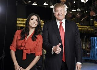 Saturday Night Live - Season 41 Donald Trump Cecily Strong