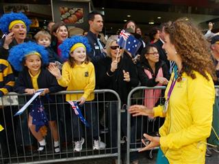 Australia Olympic Parade