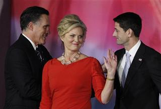 Mitt Romney, Ann Romney, Paul Ryan, 