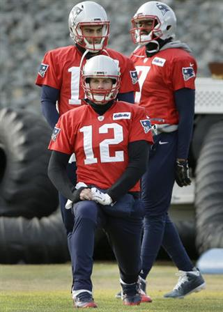 Tom Brady, Jimmy Garoppolo, Jacoby Brissett