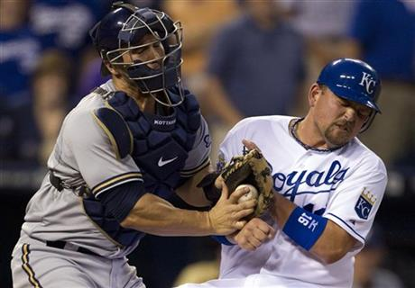 Billy Butler, George Kottaras