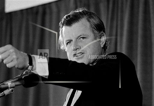 Watchf Associated Press Domestic News  Dist. of Col United States APHS149983 Edward Kennedy