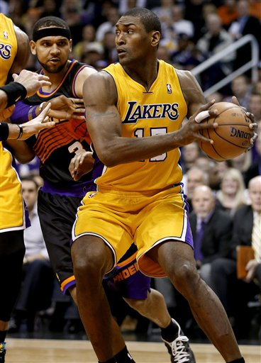 Metta World Peace, Jared Dudey