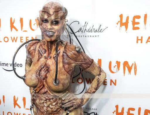 Heidi Klum Halloween Party 2019