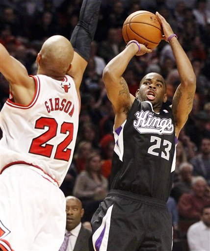 Taj Gibson, Marcus Thornton