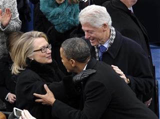 Barack Obama, Hillary Rodham Clinton, Bill Clinton