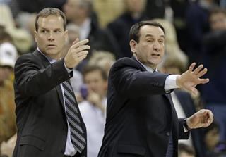 Mike Krzyzewski, Chris Collins
