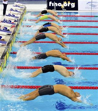 Mideast Emirates Swimming World Cup