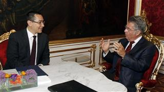 Heinz Fischer, Victor Ponta