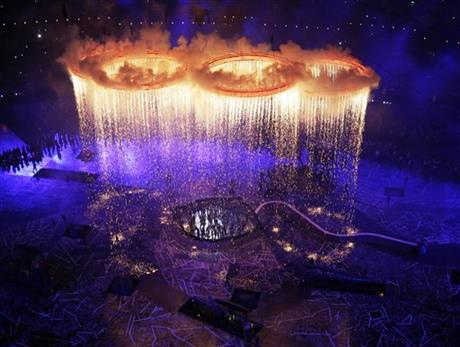 YE London Olympics Opening Ceremony