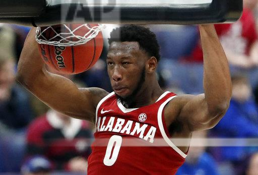APTOPIX SEC Alabama Texas A M Basketball