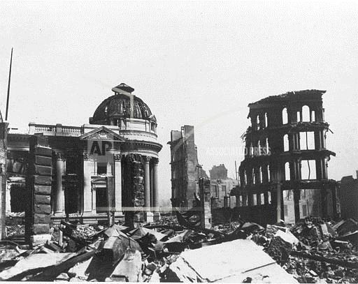 Associated Press Domestic News California United States SAN FRANCISCO EARTHQUAKE 1906