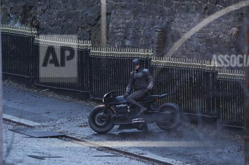 Batman filming - Glasgow
